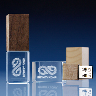10 thumb - USB Sticks aus Glas