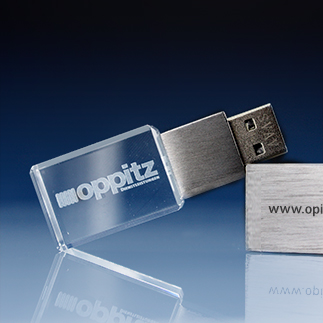 154 thumb - USB Sticks aus Glas