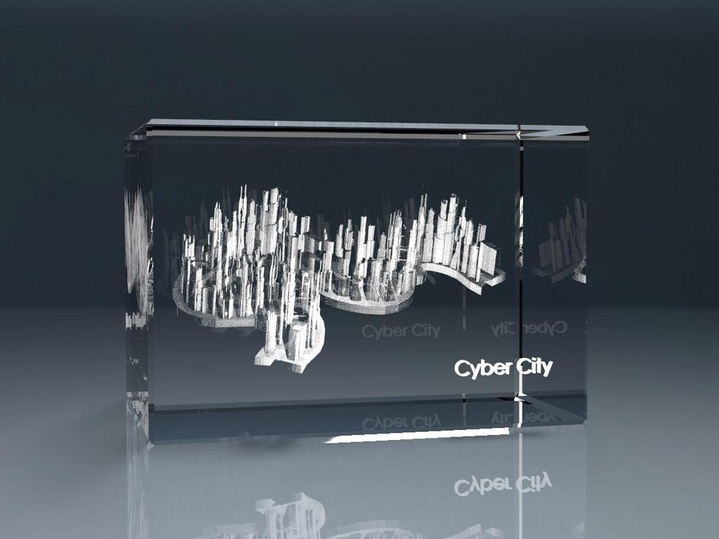 3d glassblock 4 1 - 3D Glasquader