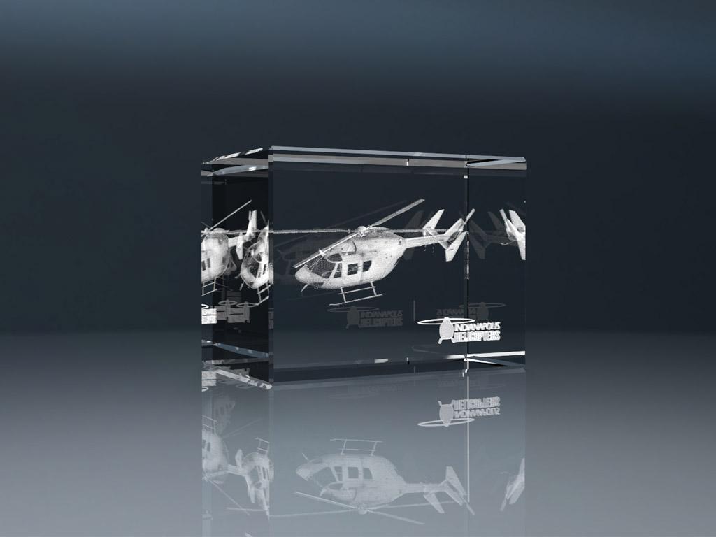 3d glassblock 8 1 - 3D Glaswürfel - Spitze