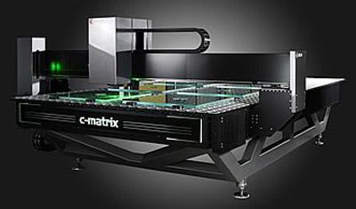 Lasermaschine für Glasgravur