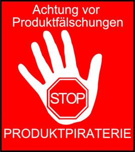 Icon Achtung vor Produktfälschungen und Produktpiraterie