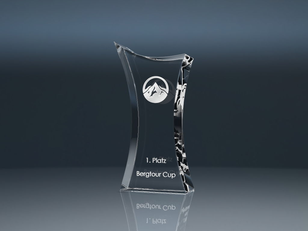 Glasspokal Cross 4 - Trophy CROSS