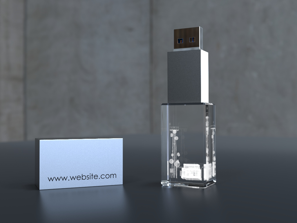 USb Crystal 3d Speed.13 - USB CRYSTAL SPEED