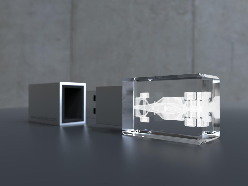 USb Crystal 3d Bild 1.23 2 - USB CRYSTAL 3D