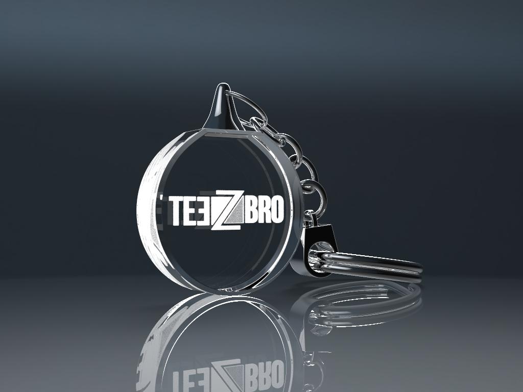 keychain ohne licht 2.12 - Schlüsselanhänger rund