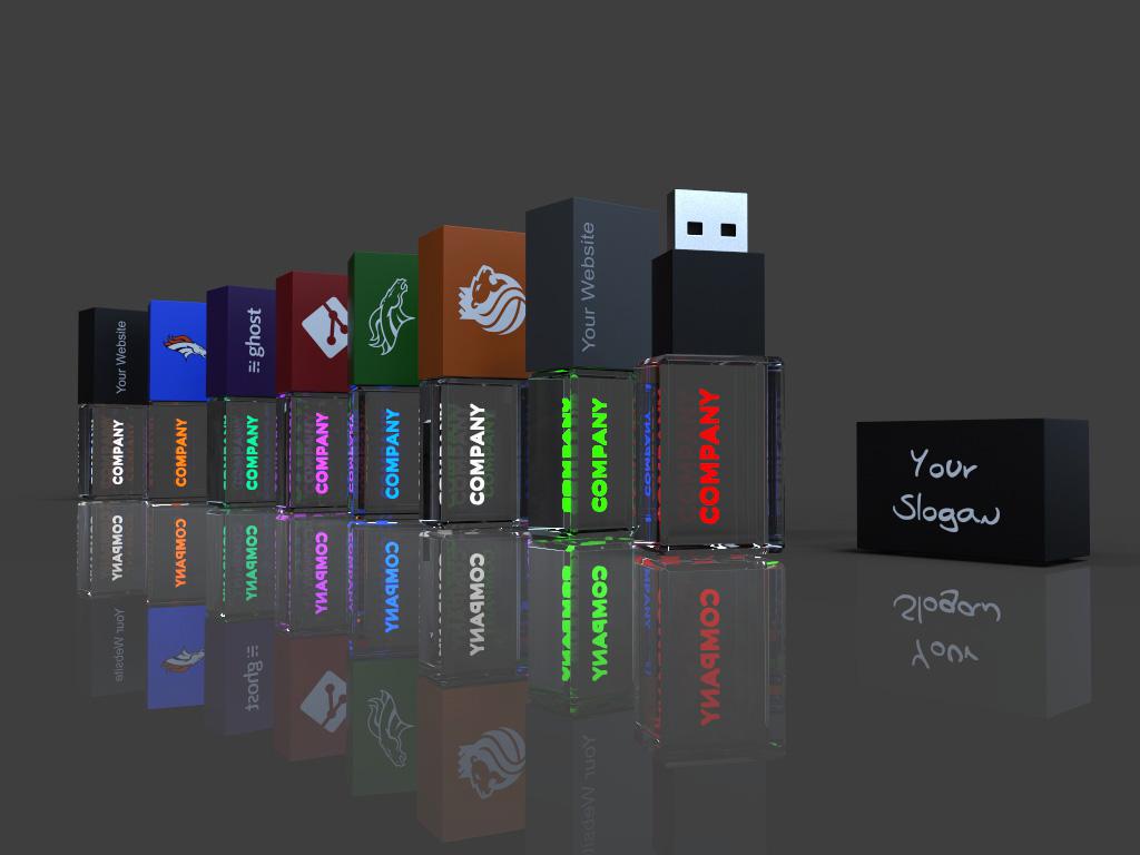usb Crystal 3d 3 1 - USB CRYSTAL COLOUR