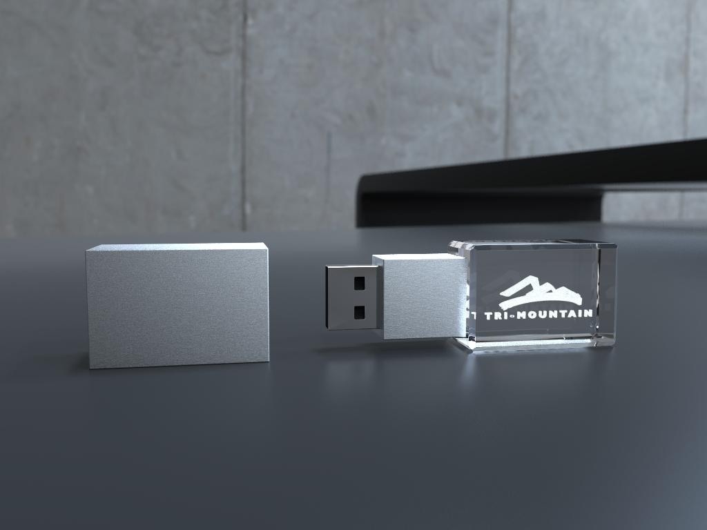 usb grohe.15 2 - USB CRYSTAL 3D