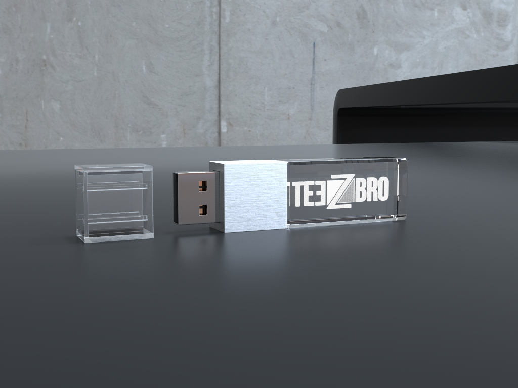 usb halb liegend.36 - USB CRYSTAL MINI