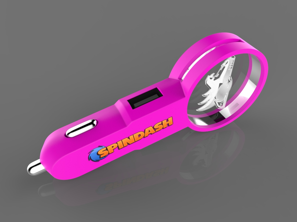 Crystal Car Charger 2.95 2 - Crystal car charger