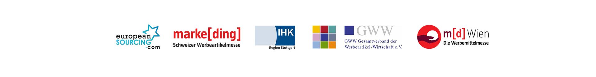 Logos von Unternehmen