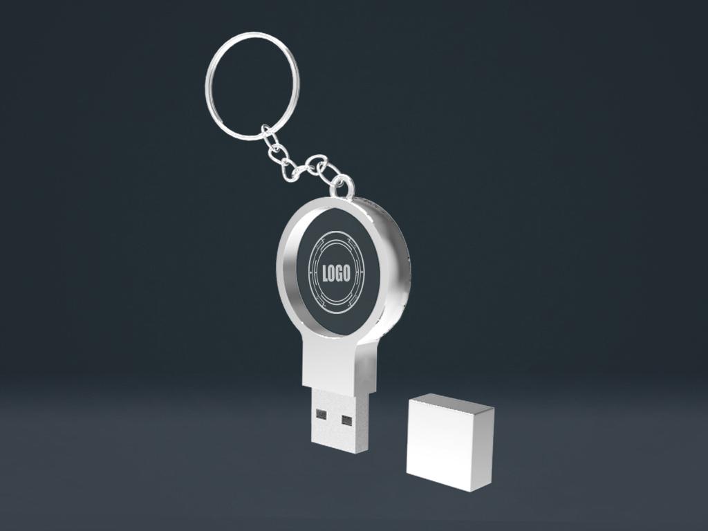 01 1 - USB CRYSTAL CIRCLE