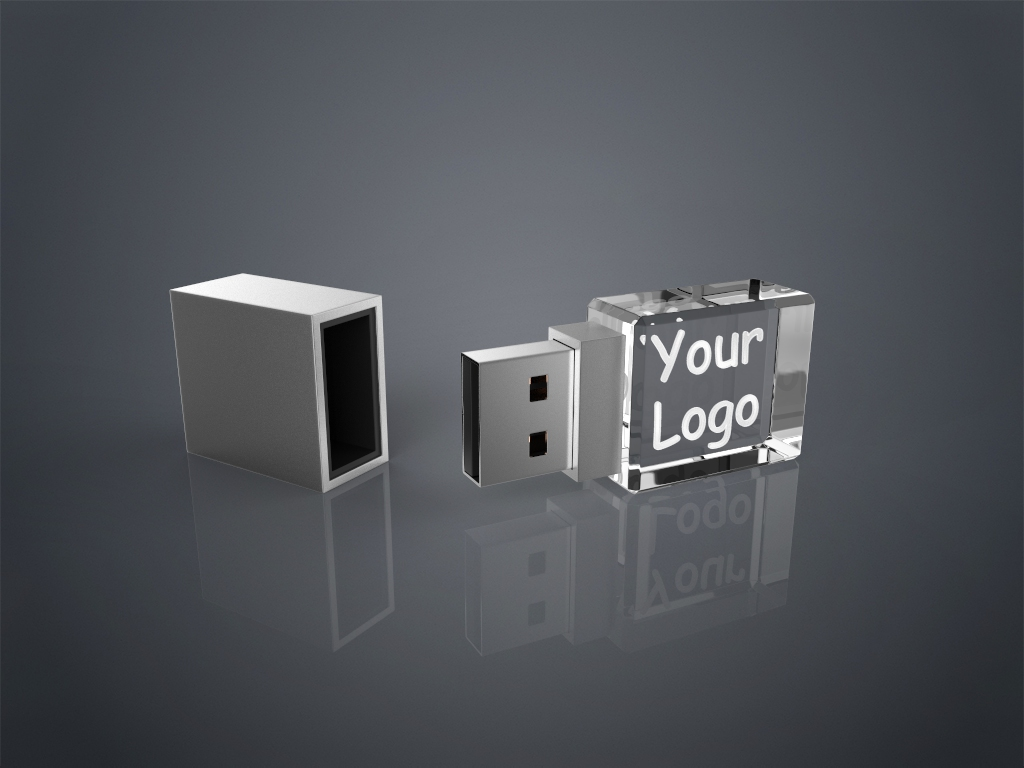 Crystal USB Square.89 - USB CRYSTAL SQUARE