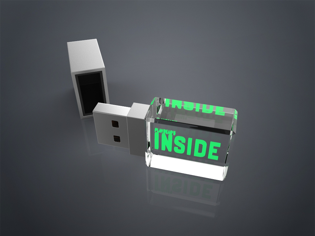 Crystal USB Square.91 - USB CRYSTAL SQUARE