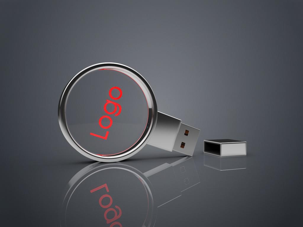 USB Crystal Circle Bild 3 - USB CRYSTAL CIRCLE