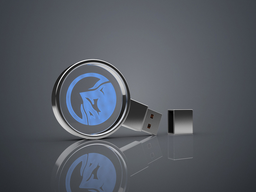 USB Crystal Circle Bild 4 - USB CRYSTAL CIRCLE