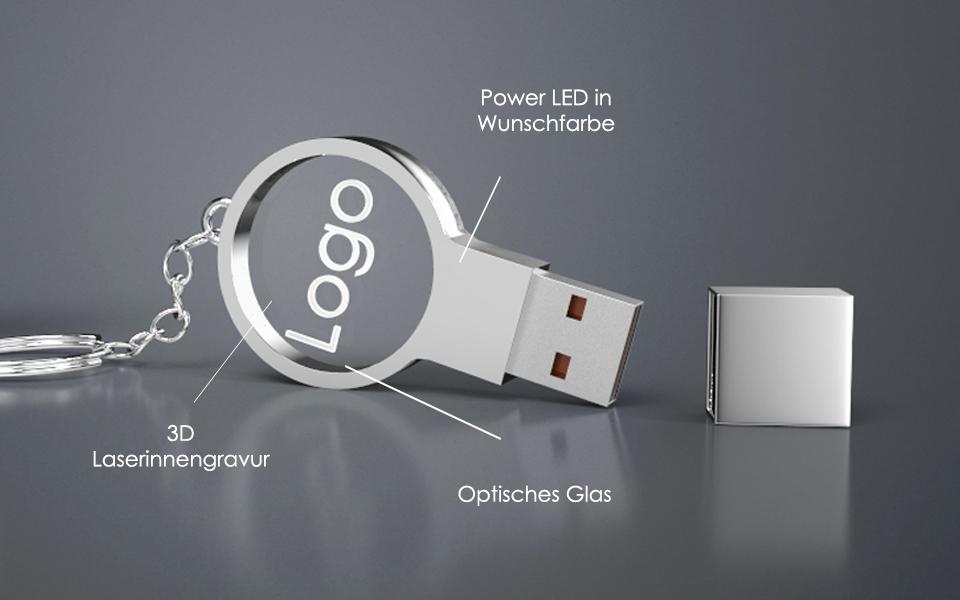 N USB Crystal Circle Beschreibung 1 - USB CRYSTAL CIRCLE