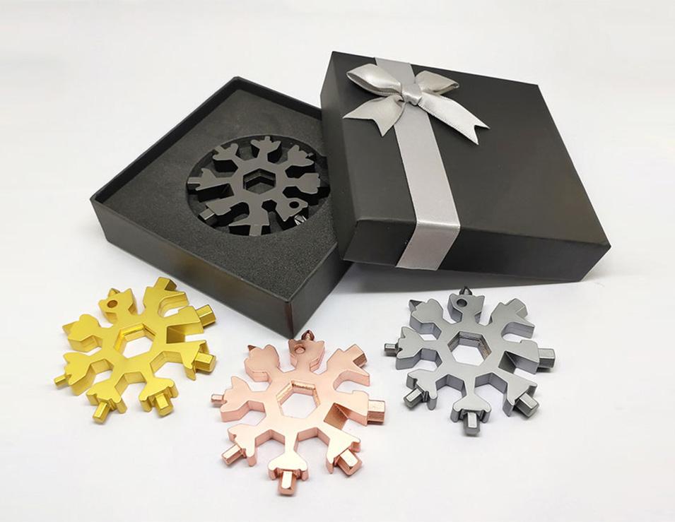 Varianten - Snowflake - Multitool aus Metall
